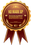 Exclusive No Vendor Mark Up Guarantee