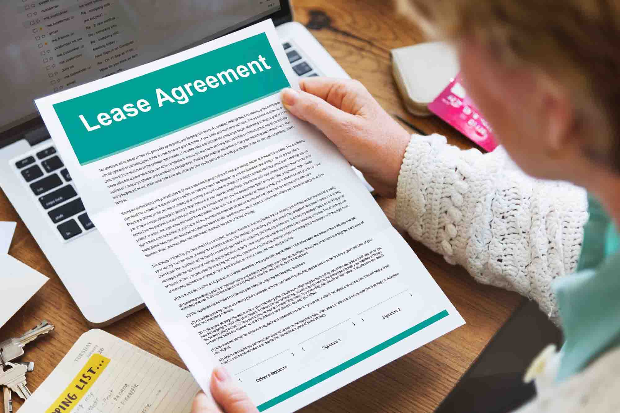 Enforcement of the Lease Agreement